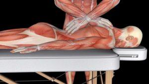 massage med Tørre greb